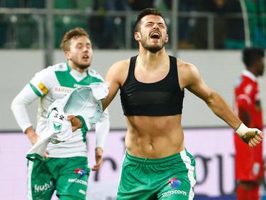Albian Ajeti stürmt auch weiterhin für den FC St. Gallen