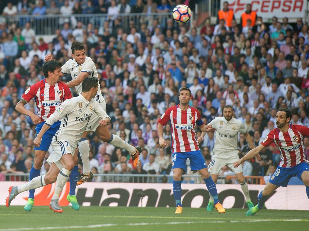 Real Madrid y Atlético de Madrid, en el último encuentro de La Liga (Foto: Getty)
