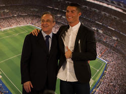 Laut Pérez (li.) sind keine Offerten für Ronaldo eingegangen