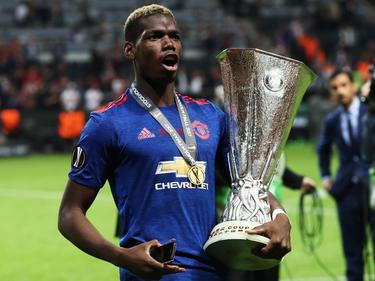 Pogba gewann mit Manchester United die Europa League