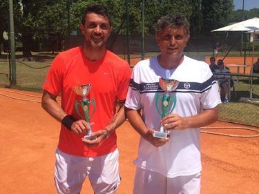 Paolo Maldini war schon immer großer Tennis-Fan und ist nun selbst auf der Challenger Tour aktiv (Bildquelle: Paolo Maldini Instagram)