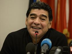 """Maradona will sich bei Neapel für die """"Liebe"""" bedanken"""