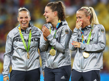 Die Testspiele der Olympiasiegerinnen sind fix