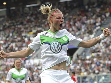 Im Champions-League-Finale 2016 erzielte Alexandra Popp das 1:1 gegen Lyon