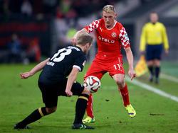 Axel Bellinghausen (r.) bleibt weiter bei Fortuna Düsseldorf