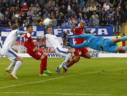 Lotte und Erfurt trennen sich 2:2