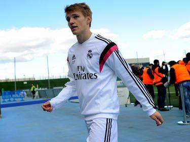 Ødegaard durante la pretemporada con el Real Madrid. (Foto: Getty)
