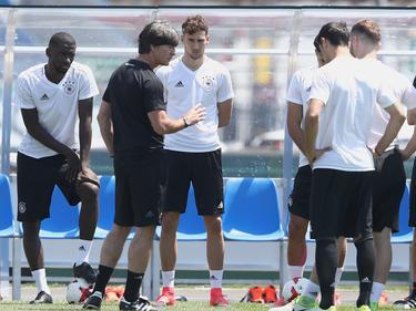 Bundestrainer Joachim Löw wird sein Team im Geheimen vorbereiten