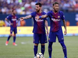 Lionel Messi und Neymar gehen ab sofort getrennte Wege