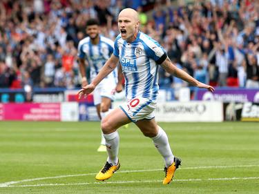 Mooy marcó el tanto de la victoria del Huddersfield. (Foto: Getty)