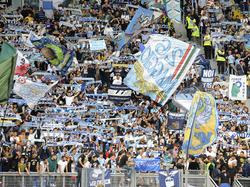 La tribuna cerrada es ocupada habitualmente por los ultras del Lazio. (Foto: Getty)