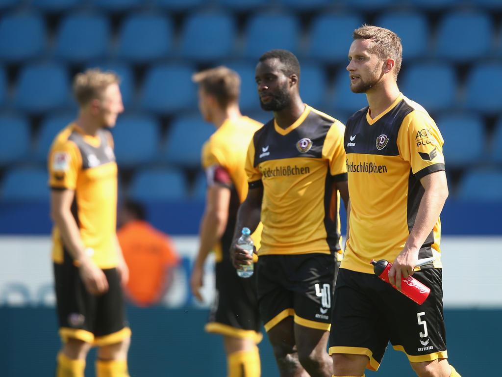 Manuel Konrad fehlt Dynamo Dresden länger  Der 29-Jährige zog sich am vergangenen Freitag im Training einen Muskelfaserriss der rechten Adduktoren zu.