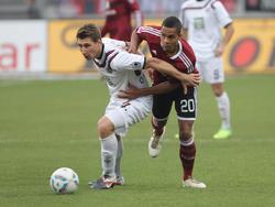 Willi Orban (l.) kann auch weiterhin nicht zur Teilnahme an U-Wettbewerben gezwungen werden