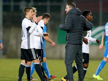 Die deutsche U17 setzt sich mit dem 5:1-Sieg an die Tabellenspitze