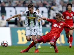 Patrick Herrmann (l.) steht im Aufgebot des DFB-Teams