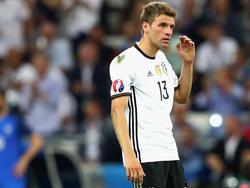 Thomas Müller wirkte im EM-Halbfinale verloren