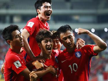 Südkorea feiert einen knappen Sieg über China