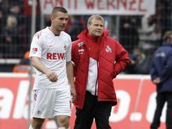 Frank Schaefer trainierte noch Lukas Podolski in Köln