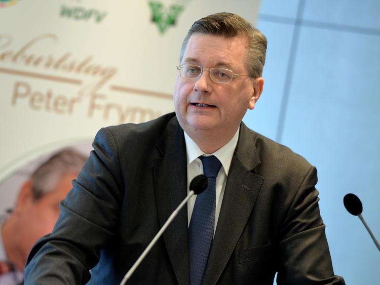 Reinhard Grindel bestätigte die DFB-Bewerbung um die EM 2024