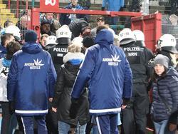Am 2. Dezember kletterten Chemnitz-Fans über den Zaun in den Innenbereich