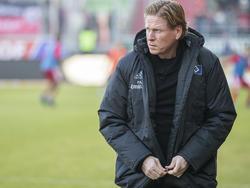 Markus Gisdol geht mit großem Respekt in die Bayern-Partie