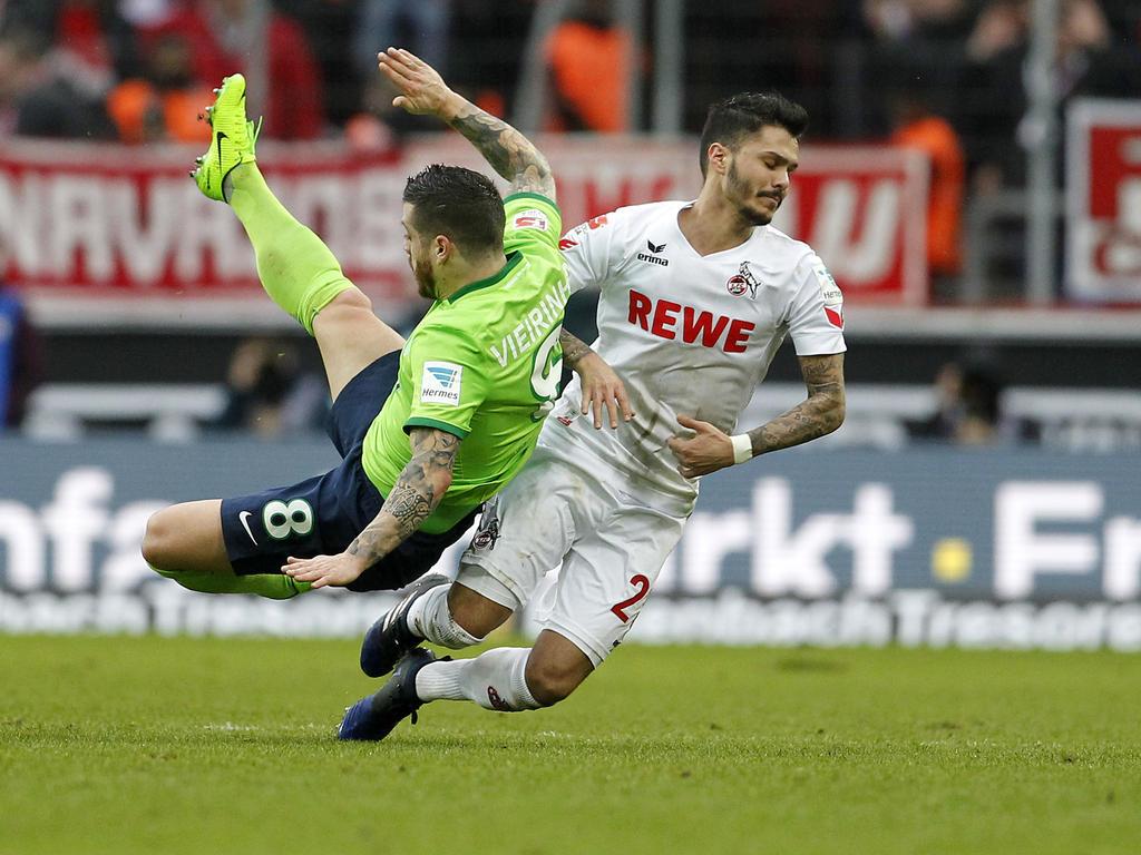 Leonardo Bittencourt (r.) wird dem FC Köln wochenlang fehlen