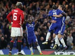 N'Golo Kanté hat Chelsea zum Sieg gegen Manchester United geschossen