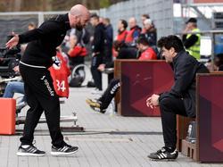Roland Vrabec ist nicht mehr Coach des FSV Frankfurt