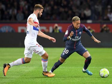 Superstar Neymar (r.) blieb diesmal ohne eigenen Treffer
