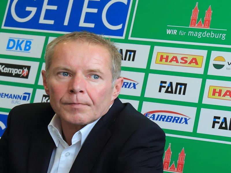 <b>Uwe Jungandreas</b> wird beim SC Magdeburg als neuer Trainer vorgestellt. - J7h_47AYj_l