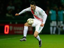 Levin Öztunali spielt seit gut einem Jahr bei Werder Bremen