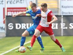 Martin Röser (r.) wechselt aus Offenbach nach Halle