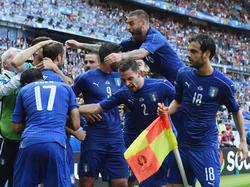 Italien feiert den Viertelfinaleinzug