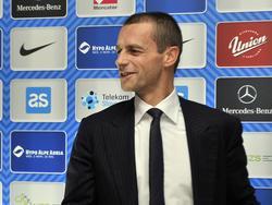Aleksander Čeferin ist auf dem besten Weg zur UEFA-Präsidentschaft