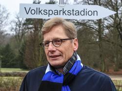 HSV-Aufsichtsrats-Chef Karl Gernandt dementiert ein Geheimtreffen mit Heribert Bruchhagen
