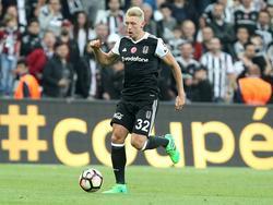 Andreas Beck feierte mit Beşiktaş seinen zweiten Meistertitel