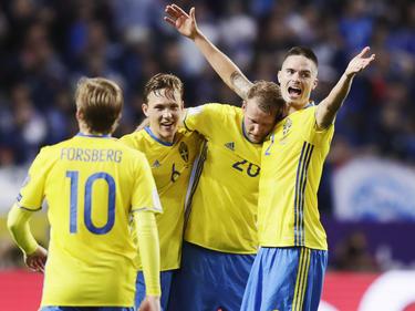 Schweden stößt Frankreich vom ersten Platz in der Quali-Gruppe A