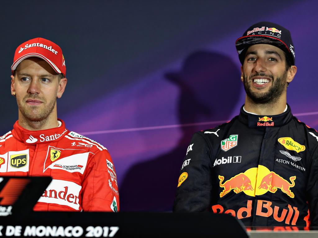 Sebastian Vettel und Daniel Ricciardo: Man geigt sich gerne die Meinung