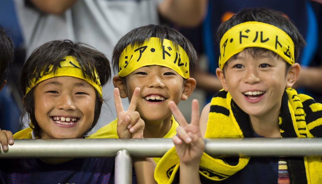 Japans junge BVB-Fans
