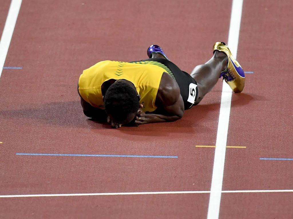 Die Karriere von Usain Bolt hat nicht das erhoffte Happy End genommen