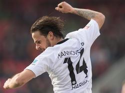 Martin Harnik traf doppelt für Hannover beim 4:2-Sieg
