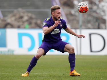 Max Wegner war zwischen 2015 und 2017 für Erzgebirge Aue am Ball