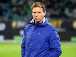 Als BVB-Coach müsste Julian Nagelsmann die blaue Jacke wohl in den Schrank verbannen