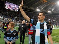 Miroslav Klose wurde gerade bei Lazio Rom verabschiedet