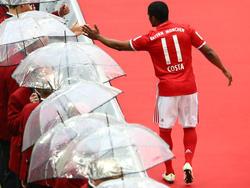 Douglas Costa spielt beim FC Bayern München eine wichtige Rolle