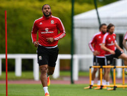 Wales kann im Viertelfinale auf Kapitän Ashley Williams bauen