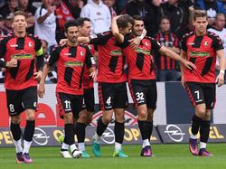 Schon nach vier Minuten traf Freiburg durch Grifo zum entscheidenden 1:0