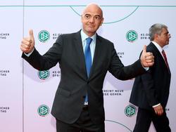 Infantino will eine WM mit 16 Dreier-Gruppen