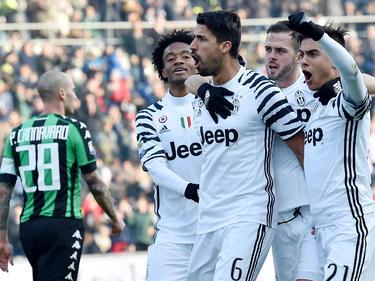Juventus durfte einen Sieg gegen Sassuolo bejubeln