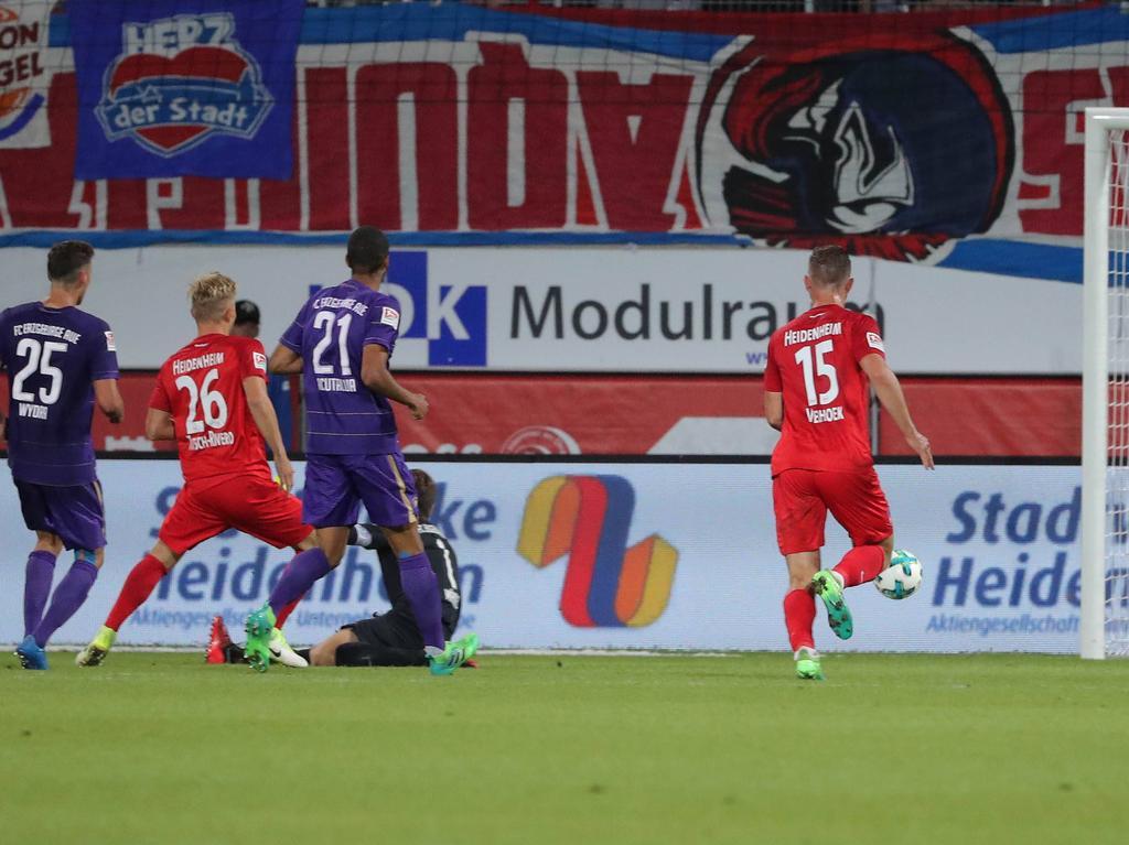 Marcel Titsch-Rivero (26) erzielte den Siegtreffer